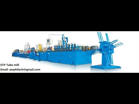 How is Automatic SS tube mill for industry working