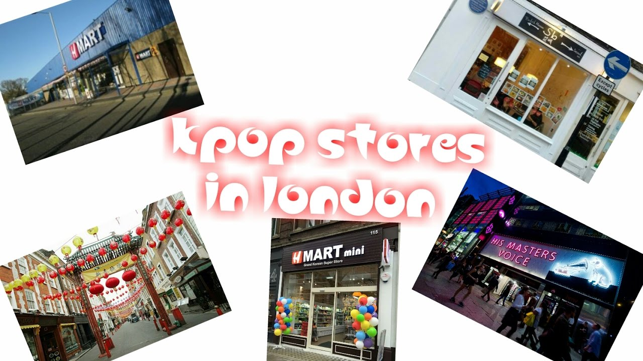 91c4334c6 KPOP STORES IN LONDON - YouTube