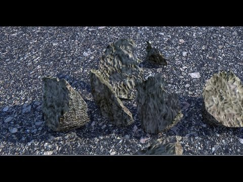 Maya 2016 tutorial : How to create rock debris for your scene in minutes