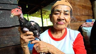 Download Indonesia Village Food - GRANDMA'S RENDANG in Sumatra! Eating INDONESIAN FOOD with Minang People! Mp3 and Videos