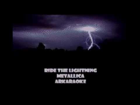 Ride the Lightning - Metallica karaoke