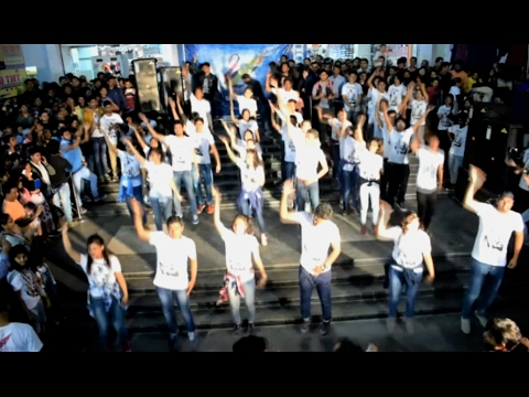 NIT Agartala Flash mob-2017 at ML Plaza | Pre Advaitam Promotional event by D4U club