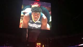 2017-18 New Orleans Pelicans Playoffs Intro Game 4 (vs POR 4/21/18)