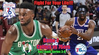 Fight For Your Life!!! Celtics vs Sixers Game 4 Live Reactions Only (Game not shown)