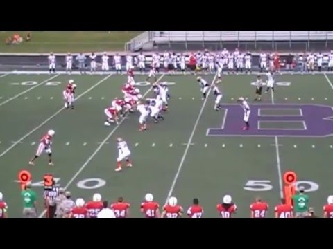 2014 Indiana Cutters vs Marion County Crusaders - CRFL Week 2