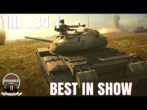 Best In Show T 34 1 World of Tanks Blitz