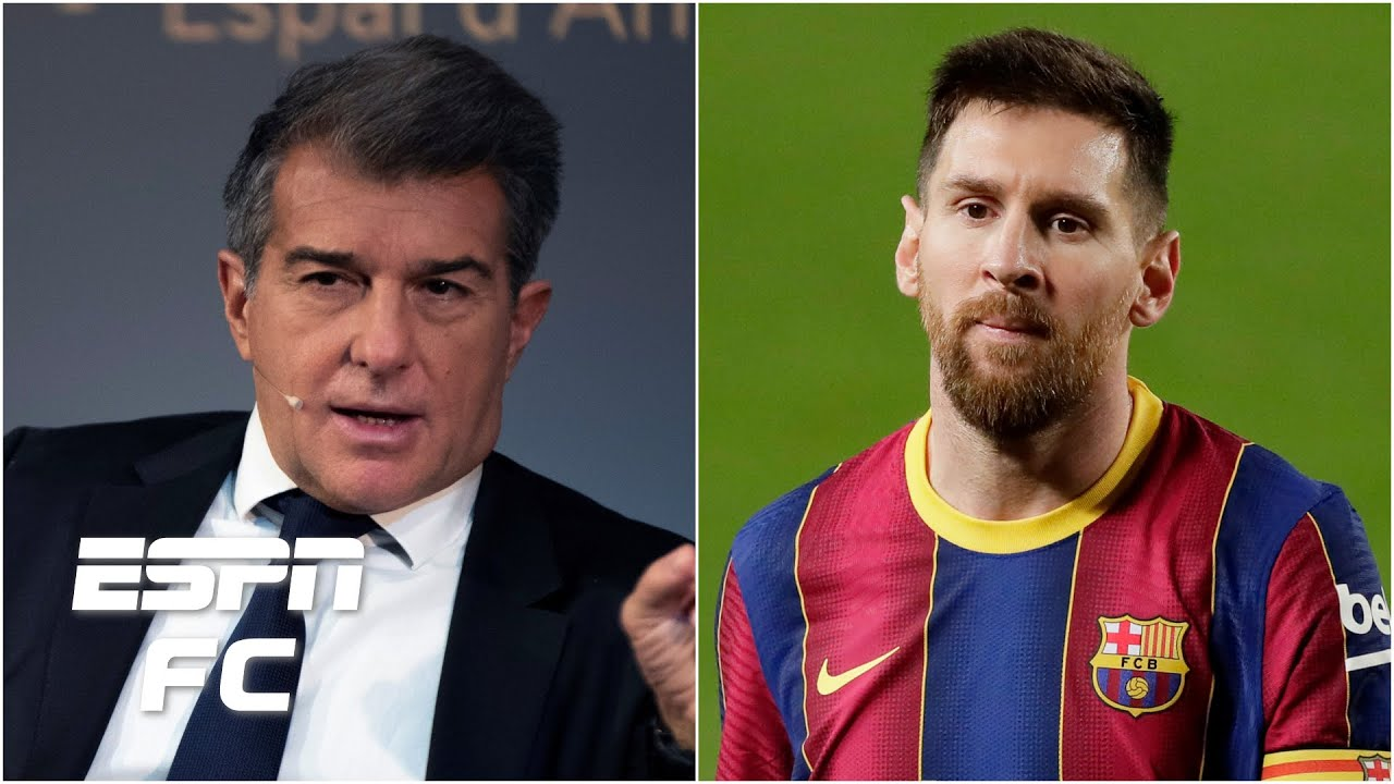 Joan Laporta elected Barcelona president: Will Lionel Messi be convinced to stay? | ESPN FC