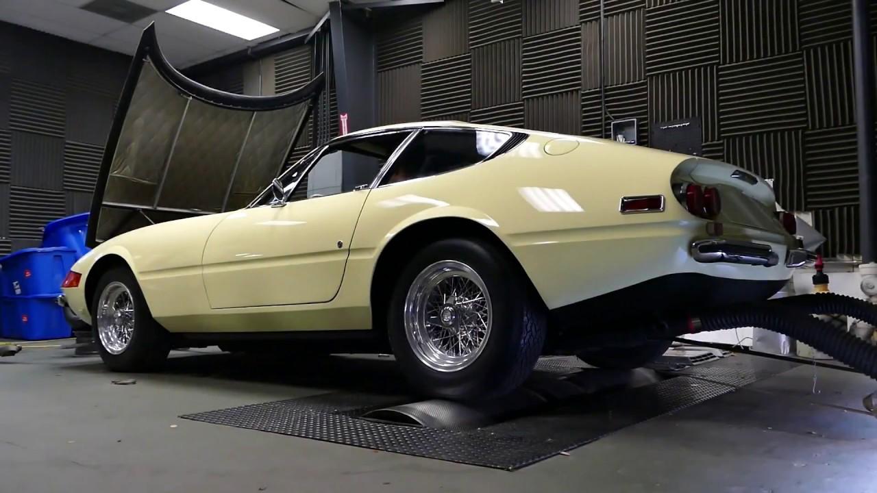 1971 Ferrari 365 GTB 4 Daytona Dyno Run