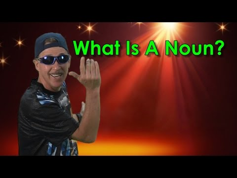 Nouns Song | What Is A Noun | Parts of Speech | Jack Hartmann