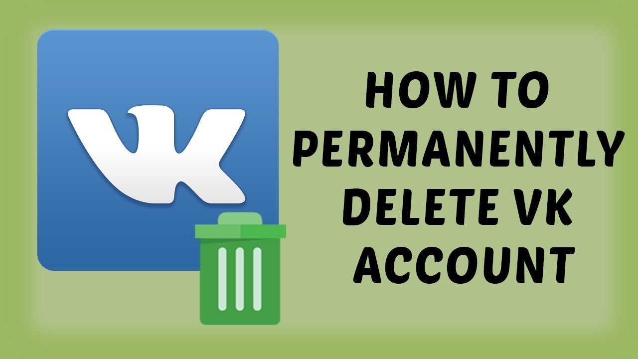 How To Permanently Delete VK Account | Delete VK Account | Tech Videos In  Hindi