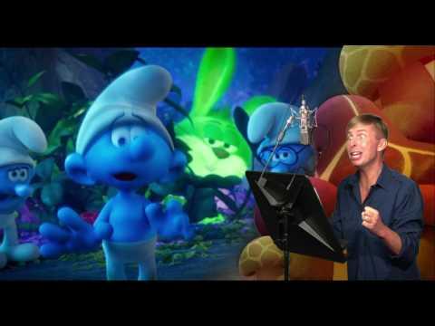 Smurfs: The Lost Village  Jack McBrayer Voice Over BRoll  Social.XYZ