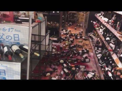شاهد: زجاجات نبيذ محطمة بعد انفجار أنابيب المياه جراء زلزال اليابان…  - نشر قبل 19 ساعة