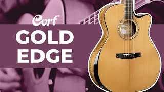 ⭐New for 2021⭐ Gold-Edge   Gold Series   Cort Acoustic Guitars