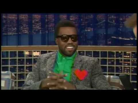 "Kanye West on ""Late Night with Conan O'Brien"" - 11/25/08"