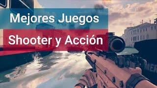 MEJORES JUEGOS ACCION Y DISPAROS SHOOTER PARA ANDROID 2015