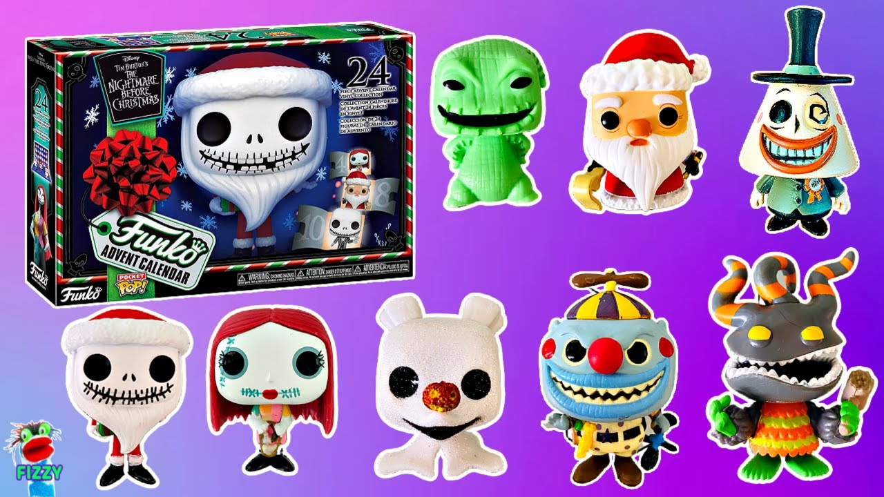 Happy Meal Toys Schedule October 2020 Nightmare Before Christmas Unboxing Disney Nightmare Before Christmas Funko Pocket Pop Advent