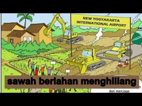 IKSAN SKUTER - LAGU PETANI (Lirik Video Cover) || Jogja Darurat Agraria
