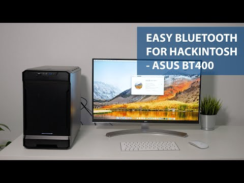 Easy, Plug And Play Bluetooth For Hackintosh Or Mac - Asus BT400