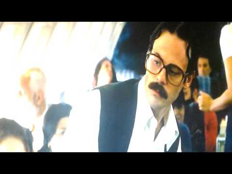 Movie.. Argo..Smoking a plane Swiss airline (Iran to United states )