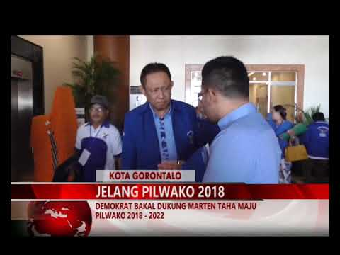 MIMOZATV GORONTALO - DEMOKRAT BAKAL DUKUNG MARTEN TAHA MAJU PILWAKO 2018   2022