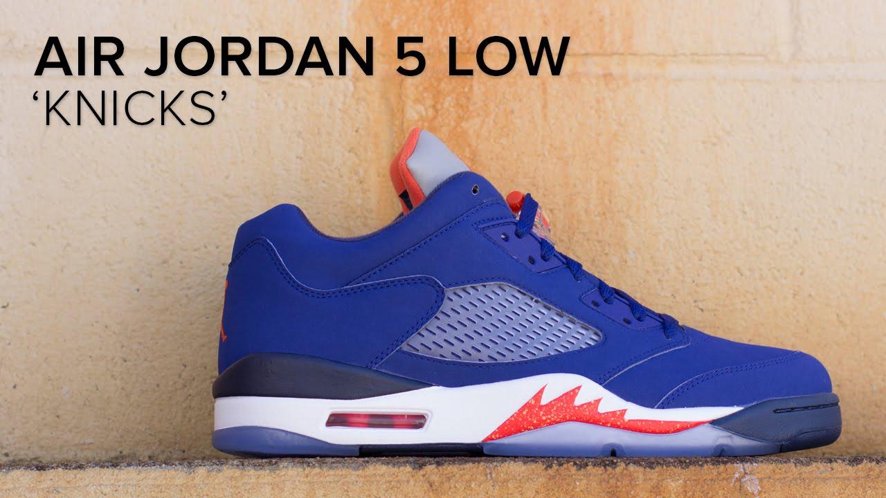 Air Jordan 5 Low 'Knicks' Quick On Feet Look