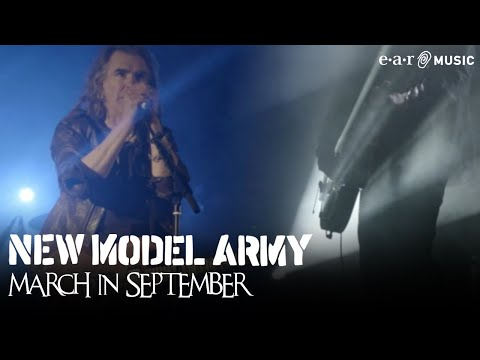 """New Model Army """"March In September"""" Official Music Video (HD) from """"Between Dog And Wolf"""""""