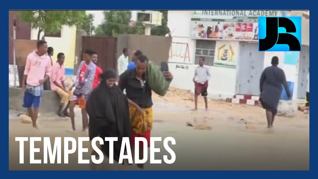 Ciclone tropical provoca inundações e pelo menos oito mortes na Somália