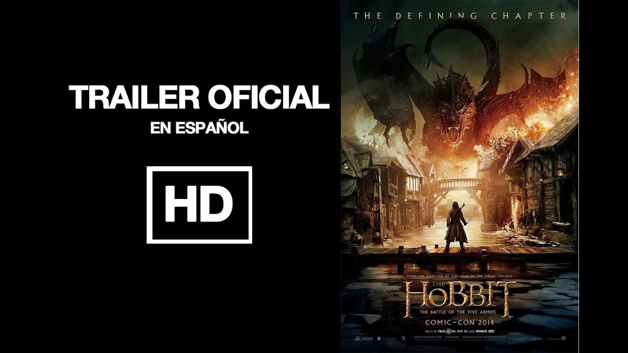 El hobbit 3 trailer oficial espa ol la batalla de los - La casa de los hobbits ...
