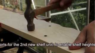 Quick How-to Guide Using Drill To Make Adjustable Shelves And Butt Joining Wood With Dowel
