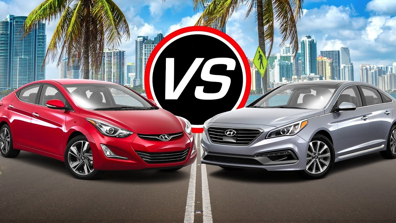 2016 Hyundai Elantra Sport Vs Sonata Eco Turbo Spec Comparison