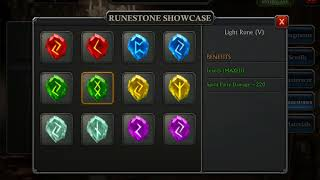 BETA 4.1 shiny runestones coming soon! - King of Avalon