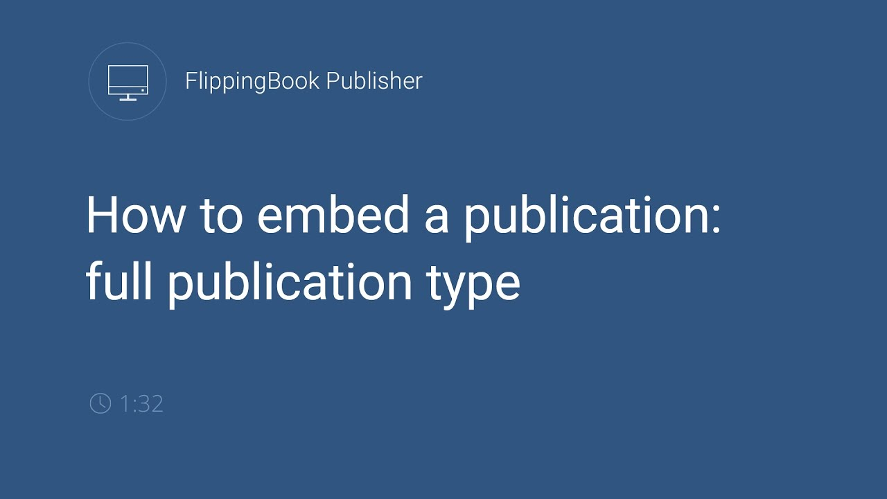 Embedding Publications into a Website | FlippingBook