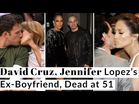 JENNIFER LOPEZ HIGH SCHOOL SWEETHEART DAVID CRUZ DEAD AT 51