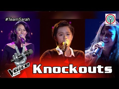 The Voice Teens Philippines Knockout Round: Nisha vs. Fritzy vs. Andrea