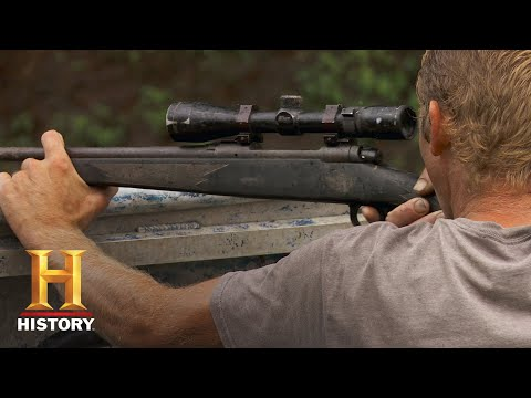 Swamp People: Willie Tags Out With Colossal Gator (Season 10) | History