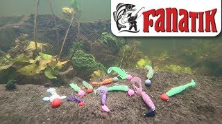 Silicone Fanatik, the game of baits under water.