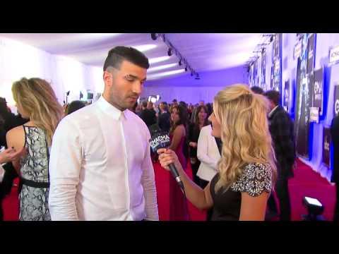 Casie Mason Interviews Sam Hunt - 2014 CMA Awards