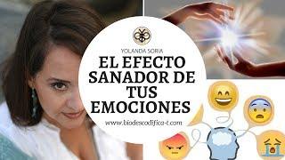 EL EFECTO SANADOR DE TUS EMOCIONES por Yolanda Soria