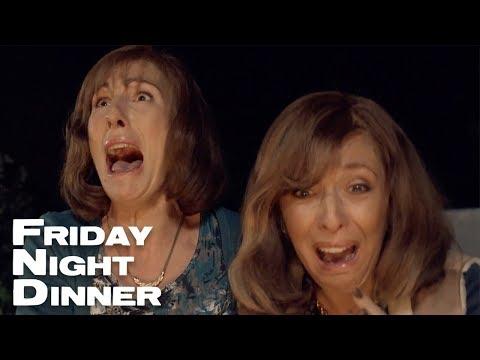 Burning Val's Dress | Friday Night Dinner
