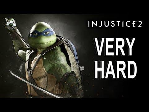 Injustice 2 - Leonardo Battle Simulator (VERY HARD) NO MATCHES LOST