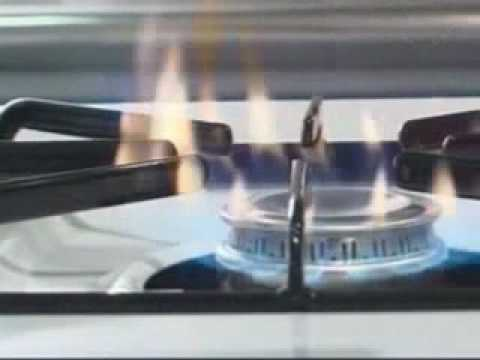 Soot or Yellow Flames on Open Cooktop Burners