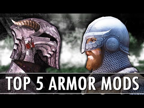 Skyrim Mods: Top 5 Armours 2018 Edition