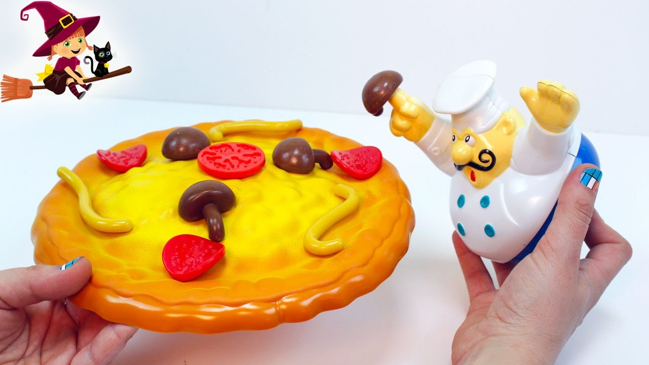 Juego Infantil De Cocinar Pizza Youtube