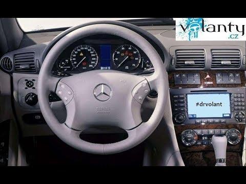 d montage du volant airbag mercedes benz c class w203 youtube. Black Bedroom Furniture Sets. Home Design Ideas