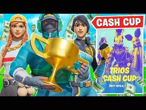 WE WON MONEY FROM THE CASH CUP!