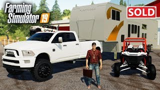 OUR FIRST SALE! HE BOUGHT A TRUCK, CAMPER & RAZOR- FS19