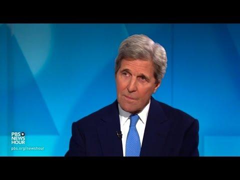 John Kerry: Putin, countries like China 'taking advantage' of Trump