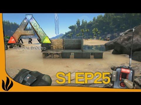 [FR] ARK: Survival Evolved - S1 Ep25 - C4 VS Murs