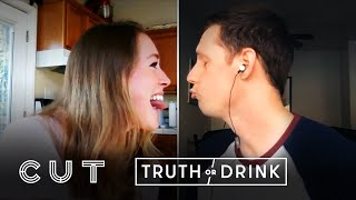 Couples Separated By Quarantine Play Truth or Drink | Truth or Drink | Cut