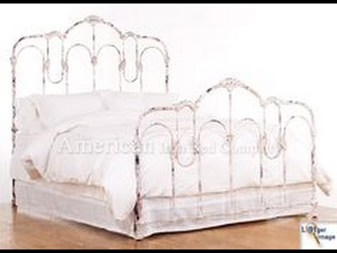 wrought iron bed frames vintage nz classic frame for sale queen